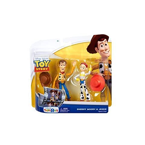 TOY STORY DOUBLE PACK WOODY & JESSIE 10 CM FIGURINES