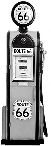 route-66-sticker-adhesif-mural-autocollant-pompe-a-essence-ancienne-n-b-120-x-40-cm