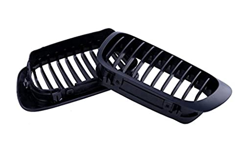 WANOOS Front Kidney Grill Grille for BMW E46 2 Door 3 Series 1998-2001