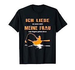 Herren Lustiges Angler Design / Angeln Fischen Angel Forellenteich T-Shirt