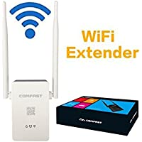 Comfast 300 Mbps Range Extender Universale/Ripetitore Wi-Fi, Porta Lan ,2