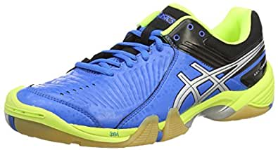 Asics Gel-Domain 3, Men's Handball Shoes, Blue (Electric Blue/Silver/Neon Yell - 3993), 6 UK (40 EU)