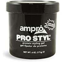 Ampro Pro Styl Protein Styling Gel, 6 Ounce (Pack of