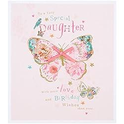 Hallmark Geburtstagskarte für Tochter 'More Love Than Ever'–Klein (in englischer Sprache)