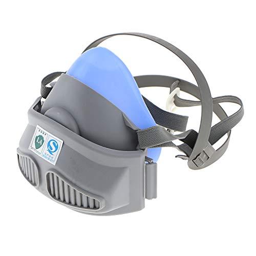 FLAMEER Filter, Halbmaske für Maler und Lackierer gegen Fein-Staub, Gase und Dämpfe