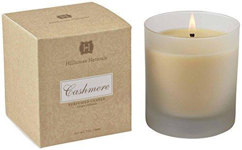 Hillhouse Naturals Cashmere Collection Candle in Frosted Glass - 7 oz by Hillhouse Naturals (Naturals Hillhouse)