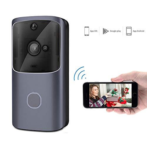E-kinds 2,4G Wireless WiFi Smart Türklingel, Kamera Video Remote Türklingel Ring Intercom CCTV Glockenspiel Telefon APP Home Security Intercom-ring
