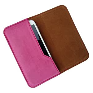 i-KitPit : PU Leather Flip Pouch Case Cover For Samsung Galaxy Note 2 (PINK)