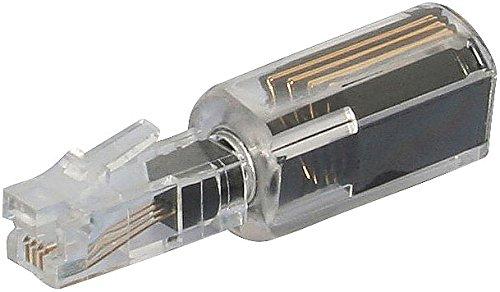 Callstel Telefonkabel-Entwirrer: Verdrehschutz Twist-Stop für Telefonhörer-Kabel, schmale Ausführung (Verdrehschutz für Telefonkabel) -