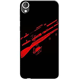 GUNS BACK COVER FOR HTC 626
