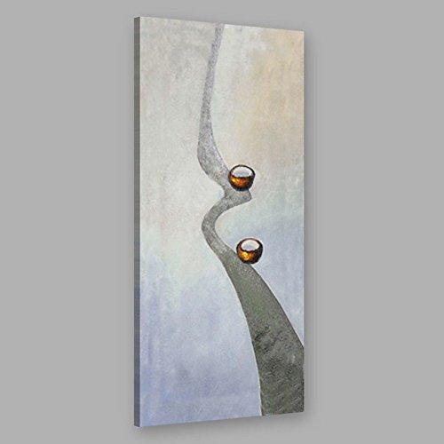 WJ-HOME Öl Malerei von Hand bemalt - Abstrakte Kunst Leinwand ohne innerer Rahmen, 20