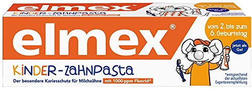Elmex Kinder-Zahnpasta, 6er Pack (6 x 50 ml) by Elmex
