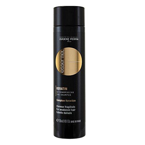 EUGENE PERMA Professionnel Essentiel Keratin Shampooing pour Cheveux Fragilisés 250 ml
