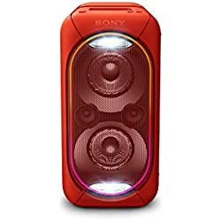 Sony GTK-XB60R Enceinte Bluetooth/NFC Extra Bass High Power - Rouge
