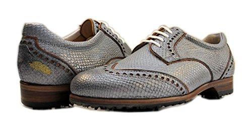 Henry & Magda Damen Golfschuhe, Derby Taubenblau - Größe: 39 (Damen-schuhe Ebay)
