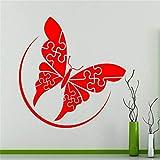 yaoxingfu Puzzles Schmetterling Wand Vinyl Aufkleber Abstraktes Design Dekoration Wandtattoo...