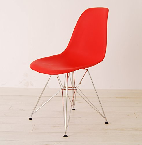HNNHOME Eames Inspired Eiffel DSR Dining Plastic Chairs Modern Lounge  Office Furniture Panton