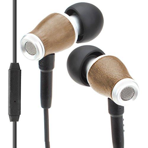 GOgroove In-Ear Kopfhörer / Earpods Ohrhörer / Stereo Kopfhörer Geräuschisolation Sport Headset für Handy & Smartphone wie Samsung Galaxy J5 A3 S7 A5 Huawei P8 iPhone 6 7 Honor 6x Lenovo Moto usw.