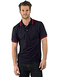 Bruntwood Classique Polo Chemise - Classic Polo Shirt - Homme & Femme - 180GSM - Polyester/Coton (Blanc, M)