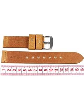 Minott Ersatzband Uhrenarmband XXL Leder Band 24mm 742-24MM