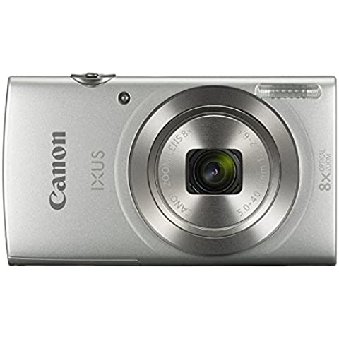 Canon IXUS175SILKIT - Cámara digital de 20 MP, color plata