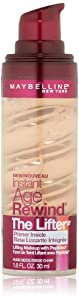 NEW Maybelline Instant Age Rewind The Lifter Foundation 180 NUDE BEIGE, 30ml, Nude Beige