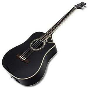 Ashton Spacb100ceq Acoustic Bass Black