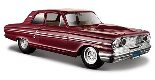 1964 Ford Fairlane Thunderbolt [Maisto 31957], Maroon, 1:24 Die Cast