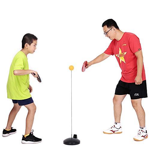 Elastischer Tischtennistrainer mit weichem Schaft, Ballmaschinentrainer Startseite Kinder Einzelübungen Rebound Artefakt neue Materialien Tischtennis Freizeit Sport