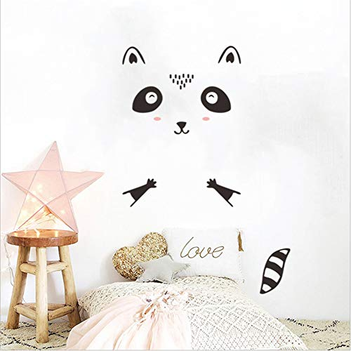 Wall Stickers Cartoon Climbing Wall Cat Children'S Home Living Room Door Sticker Decorative Wall Sticker 80 * 160Cm