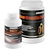 Preisvergleich für Creatin Pur 500g+DAA Testosteron Booster 90g! Kreatin Monohydrat ATP zuckerfrei Testosteron fettfreie Muskelmasse...