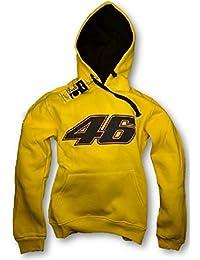 VR 46 Valentino Rossi Big amarillo sudadera con capucha