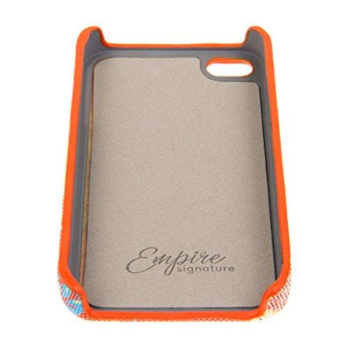 EMPIRE Signature Serie Slim-Fit Schutzhülle für Apple iPhone 4/4S _ P Vintage Pink Flower Pop