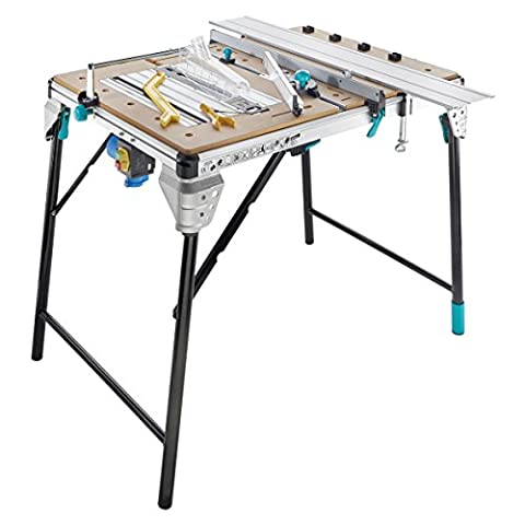 wolfcraft 6902506 Master Cut 2500 - Precision Saw Table And Work Station - Black, Silver, Brown