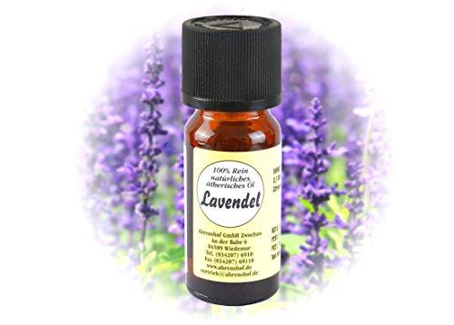 Rein Natürliches Ätherisches Öl - Lavendel - 10 ml (Potpourri Duft-Öl)