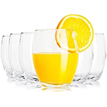 "Tivoli ""Forel"" vasos de agua / 350 ml / 6 / gafas de alta calidad / Lavavajillas/ vasos de cristal"