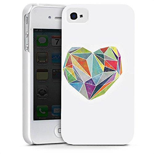 Apple iPhone X Silikon Hülle Case Schutzhülle Love Liebe Herz Premium Case glänzend