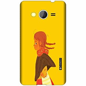 Printland Designer Back Cover For Samsung Galaxy Core 2 - Jump Cases Cover