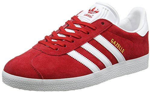 Adidas Sneakers Herren Gazela Apodrecer (escarlate / Calçado Branco / Ouro Metálico)