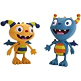Henry Hugglemonster and Cobby Figurine Set