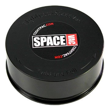TightPac Boîte de Conservation/Stockage Spacevac Noir/Transparent (7cm)