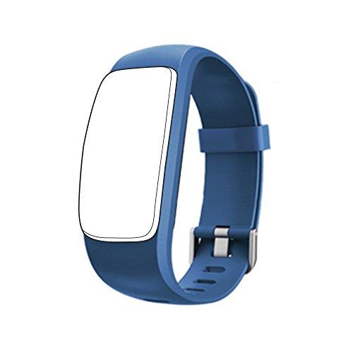 endubro braccialetto ricambio per ID107PLUS HR Drillpro | Lintelek | Deyoun | Mpow (Blu)