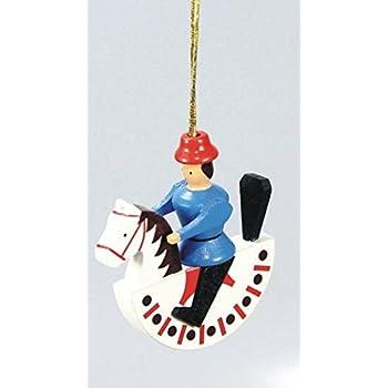 Engel mit Buch Blau Miniatur Seiffen Baumbehang Christbaumschmuck NEU 198//57B