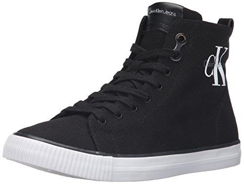 Calvin Klein Jeans Arthur, Sneaker da Uomo, Colore Nero (Black), Taglia 44 EU (10 UK)