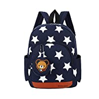 OUTANG Kids Backpack Kindergarten School Bags Lunch Boxes Carry Bag Baby