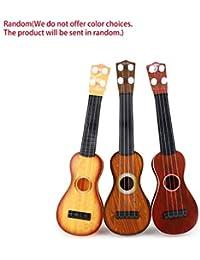 Kurphy 14.5 Pulgadas Ukelele Principiante Hawaii 4 Cuerdas Cuerdas de Nylon Guitarra Musical Ukelele para Niños…