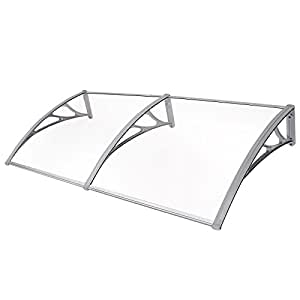Songmics Window Door Canopy Front Awning 195 x 96 cm GVH191