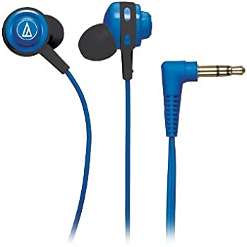 Audio-Technica Ath-Cor150bl In-Ear Headphones (Blue)