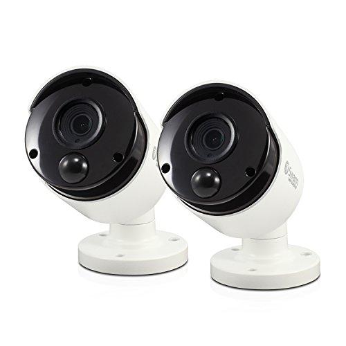 Swann Channel Security SystemSensing Bullet Kameras, weiß, SWPRO-3MPMSBPK2-UK
