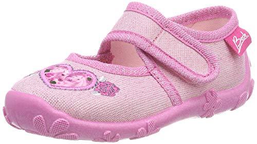 Beck Mädchen Darling Niedrige Hausschuhe, Pink (Rosa 03), 27 EU
